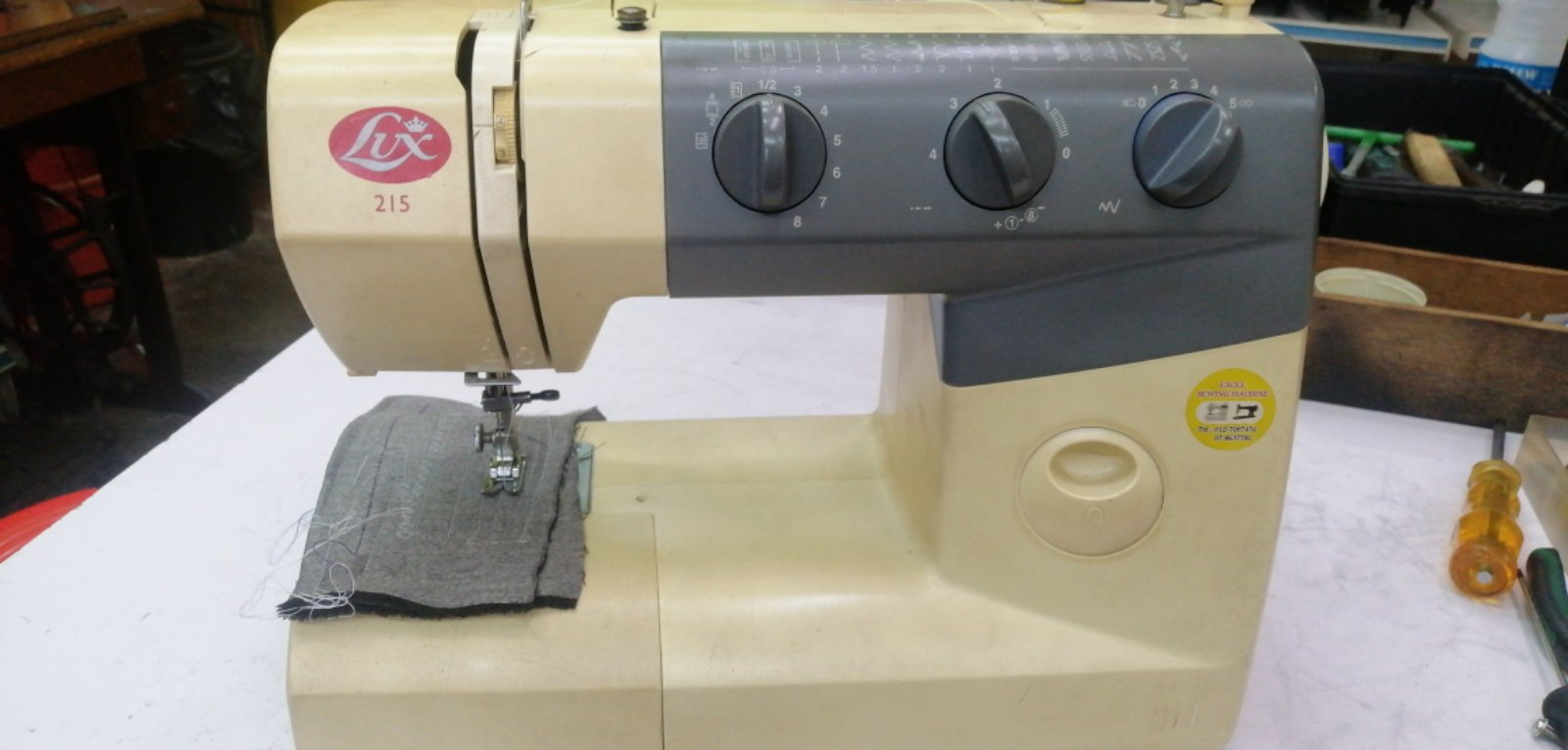 Repair Sevis Lux Blondal Portable Sewing Machine