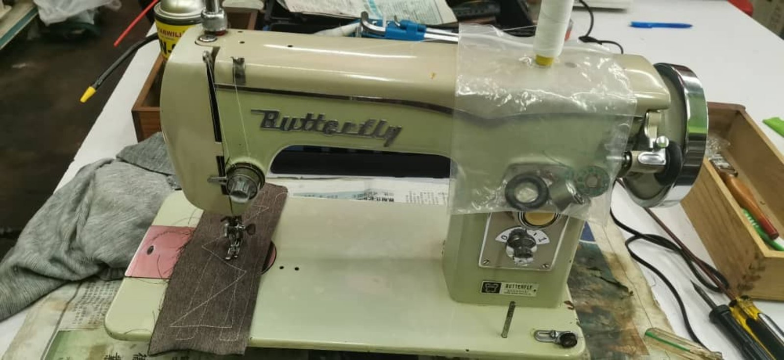 Repair Sevis Antique Butterfly Sewing Machine
