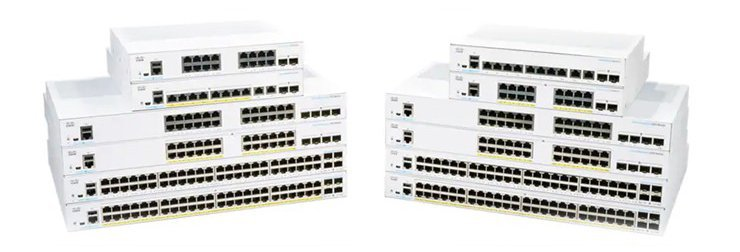 CBS250-24T-4G-UK. Cisco CBS250 Smart 24-port GE, 4x1G SFP. #