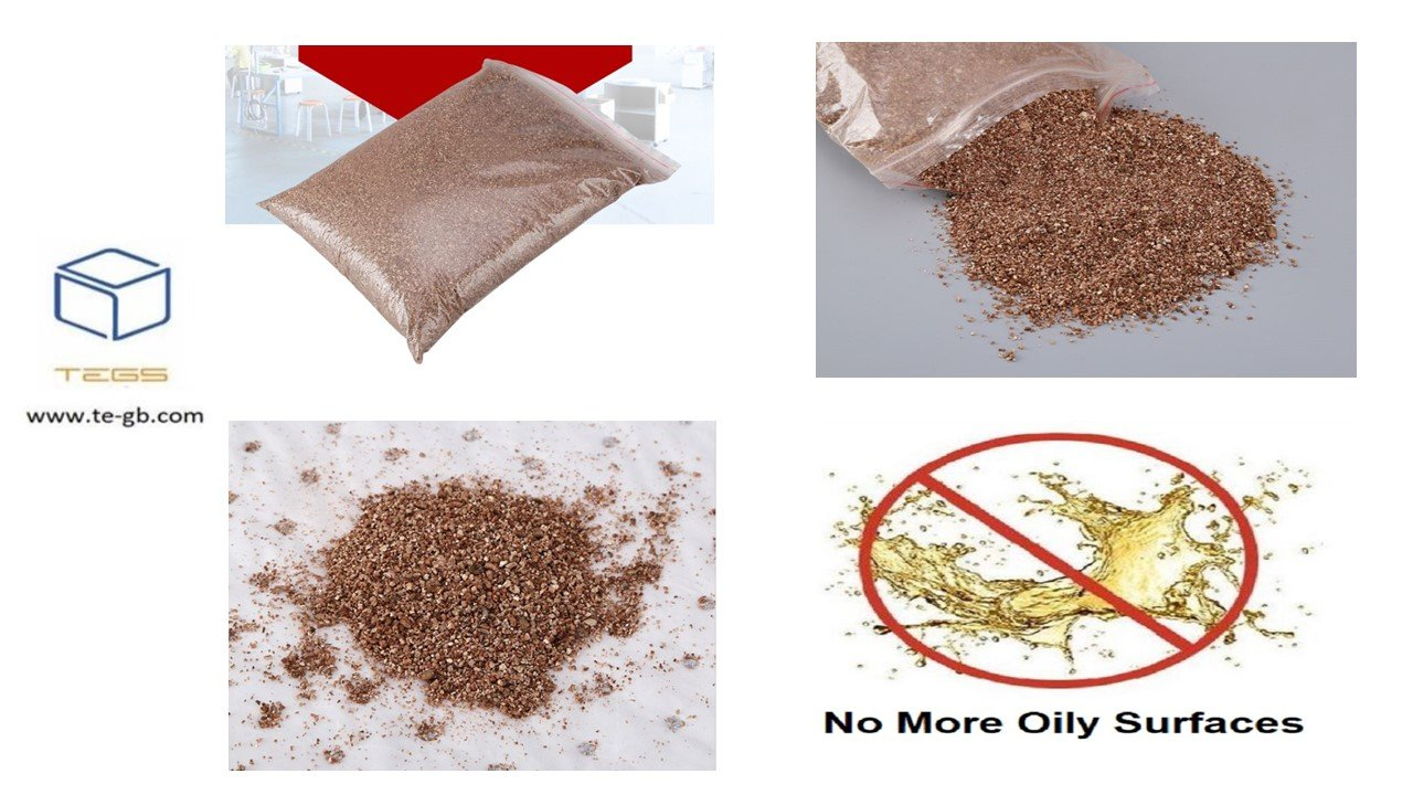 Clean And Wipe Non-Woven Industrial Oil-Absorbing Particles