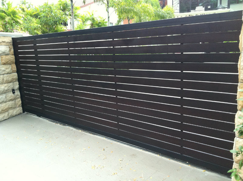 Main sliding gate chengai wood design main gate and - Sliding main gate design for home ...