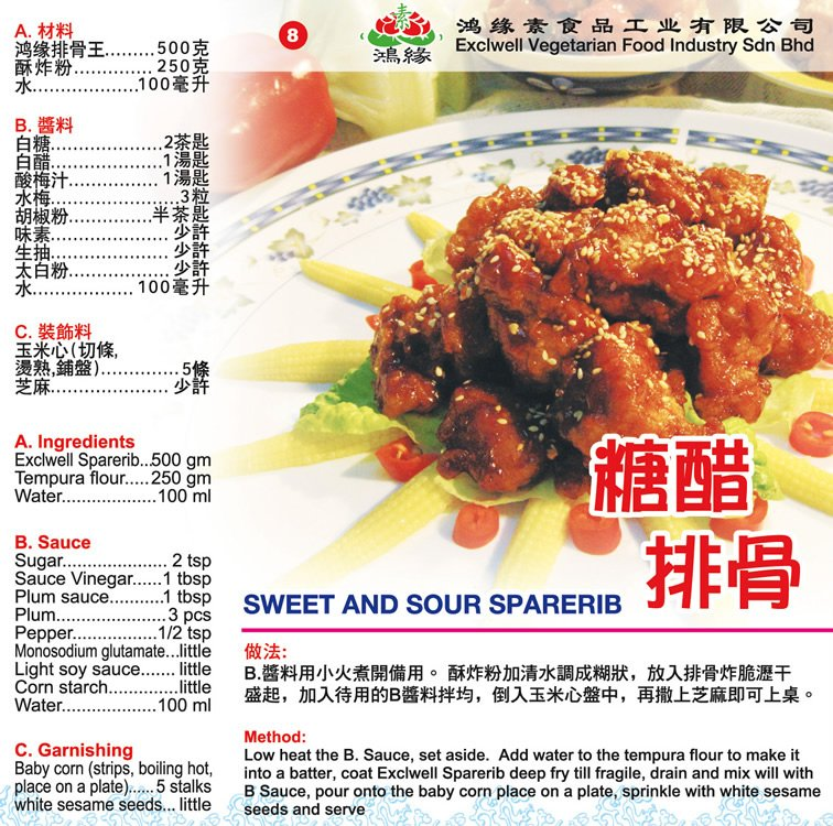 Sweet And Sour Sparerib