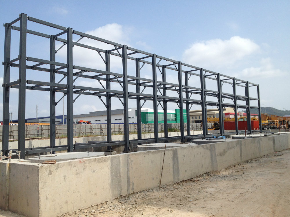 Biocon Plan Project-Pipe Rack