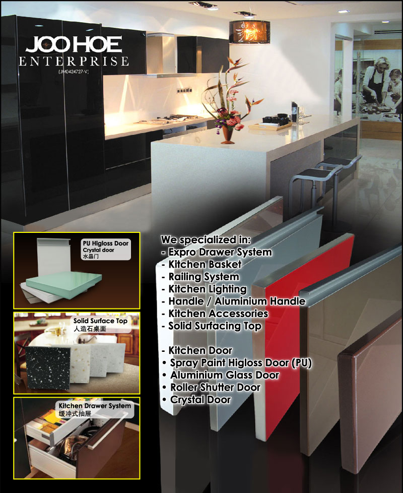 Kitchen Cabinet Accessories Supplier Jb Johor Bahru