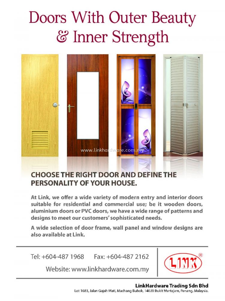 Building and Investment Magazine's Advertisement for Linkhardware