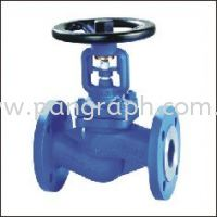 Bellow Seal Globe Valve Flanged Ends