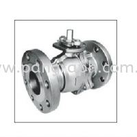 2 pcs Ball Valves Flanged Ends