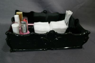 18710BK-B-010 BOX (24X15.5X7.5CM)-BLACK