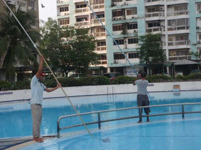 Swimming pool cleaning swimming pool maintenance services kuala lumpur kl malaysia for Swimming pool supplier malaysia