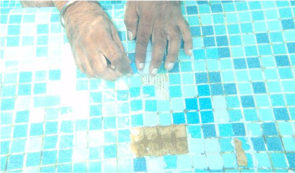 Swimming Pool Underwater Tiling Maintenance