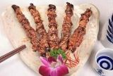Roasted Skewered Eel Liver Stick