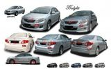 TOYOTA ALTIS 2008 BODYKIT REAR R02
