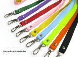 Lanyard 15mm with metal hook (New Material)
