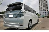 toyota vellfire body..rave