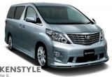 toyota new 2009 Alph..p on