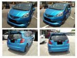 HONDA FIT GE BODYKIT.. ON.