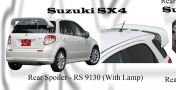 Suzuki SX4 Rear Spoiler with lamp