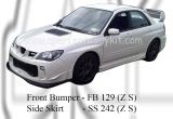 Subaru 06 Version 9 ZS Front Bumper & Side Skirt