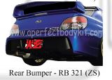 Subaru 06 Version 9 ZS Rear Bumper