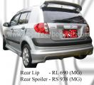 Hyundai Getz MG Rear Lip & Rear Spoiler