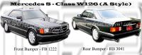 Mercedes S - Class W126 (A Style)