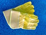 semi leather glove