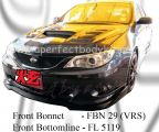 Subaru 08 Version 10 Front Bottom Line & VRS Front Bonnet
