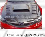Subaru 08 Version 10 VRS Front Bonnet
