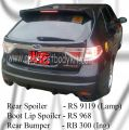 Subaru 08 Version 10 Rear Spoiler, Rear Boot Lip Spoiler & Ing Rear Bumper