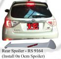 Subaru 08 Version 10 Rear Spoiler Add on Oem Spoiler