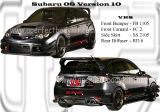Subaru 08 Version 10 VRS Bodykits