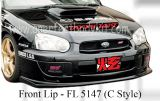 Subaru 04 Version 8 C Style Front Lip