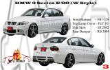 BMW 3 Series E90 WLD Style