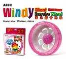 AE02  Alice Windy Silence Exercise Wheel - Pink