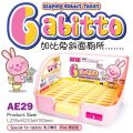 AE29  Alice Gabitto Sloping Rabbit Toilet - Pink