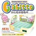 AE31  Alice Gabitto Sloping Rabbit Toilet - Cream Colour