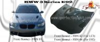 BMW 3 Series E92 Front Bonnet