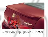 Honda Accord 2003 Rear Boot Lip Spoiler
