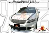 Honda Accord 2008 Modify VIP Front Bumper