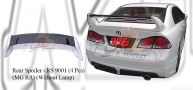 Honda Civic 2006 MG RR Rear Spoiler