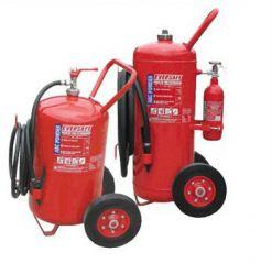 Trolley Type Dry Powder Fire Extinguishe