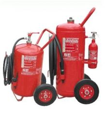 Trolley Type Foam Fire Extinguisher