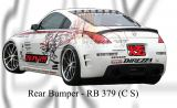 Nissan Fairlady 350z CS Rear Bumper