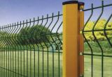 Curvy Wire Mesh Fence