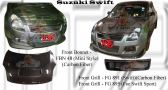 Suzuki Swift Mini Style Front Bonnet & Front Grill