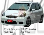 Honda Fit 2006 Axis Style Front Bumper