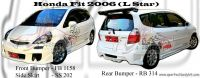 Honda Fit 2006 L Star Bodykits