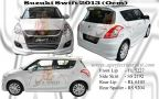 Suzuki Swift 2013 Oem Bodykit