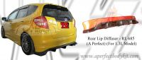 Honda Fit 2008 Rear Lip Diffuser For 1.3 Model