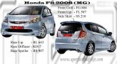 Honda Fit 2008 MG Bodykit